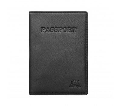 Обложка для паспорта 6117 black