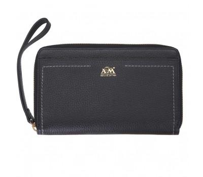 Портмоне - кошелёк женский A&M 10250 black