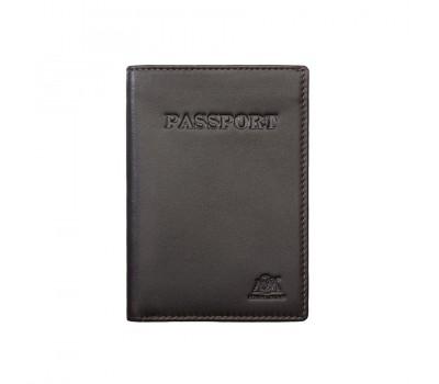 Обложка для паспорта 2112 dark brown