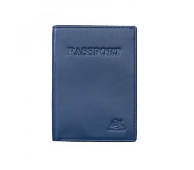 Обложка для паспорта 2116 blue