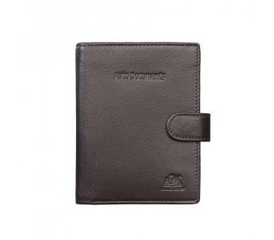 Комбинированный бумажник водителя 2133 brown