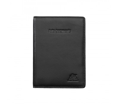 Бумажник водителя 6145 black