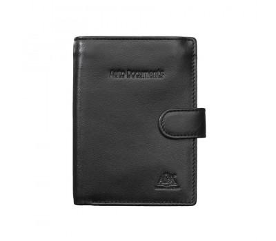Бумажник водителя  2153 black