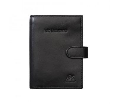 Бумажник водителя  2154 black