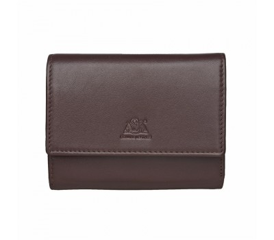 Портмоне - кошелёк женский A&M 2637 light brown